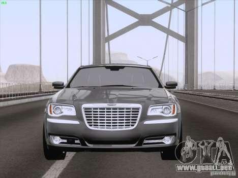 Chrysler 300 Limited 2013 para vista lateral GTA San Andreas