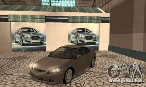 Acura RSX New para GTA San Andreas left