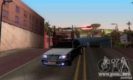 Mercedes-Benz W140 S600 Long Deputat Style para visión interna GTA San Andreas