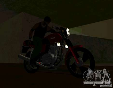 Jawa 350-638 Luxe para la visión correcta GTA San Andreas