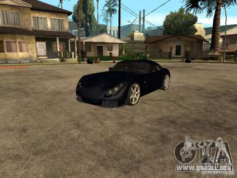 TVR Sagaris para GTA San Andreas left