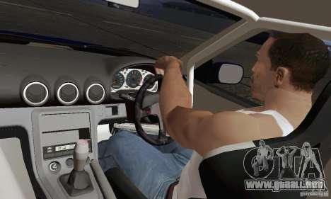 Nissan 180SX para visión interna GTA San Andreas