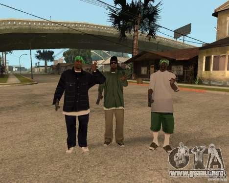 Grove de Ballasy para GTA San Andreas sucesivamente de pantalla