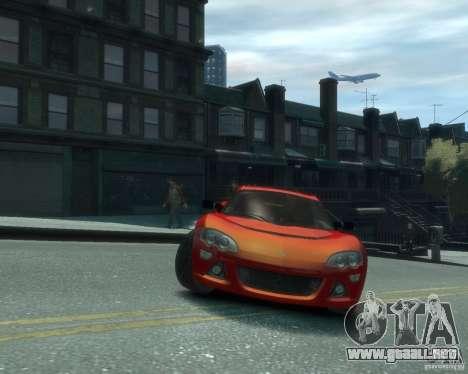 Lotus Europa S para GTA 4 vista hacia atrás