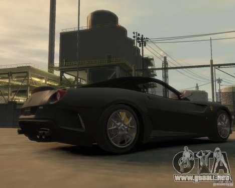 Ferrari 599 GTO para GTA 4 visión correcta