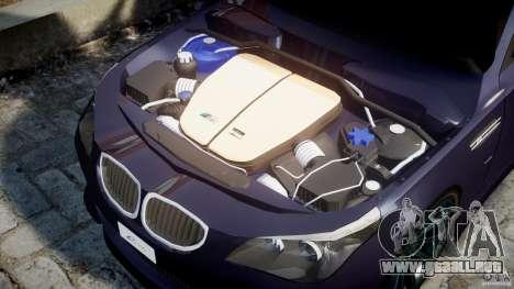 BMW M5 Lumma Tuning [BETA] para GTA 4 vista lateral