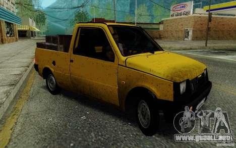 SEAZ Oka Pickup para GTA San Andreas vista posterior izquierda