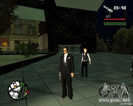 Claude Speed beta4 para GTA San Andreas segunda pantalla
