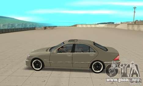 Mercedes-Benz S65 AMG 2004 para GTA San Andreas left