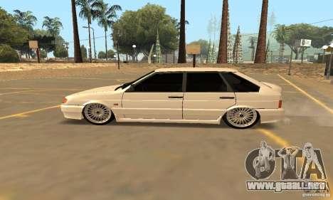 Ваз Dag 2114 estilo para GTA San Andreas left