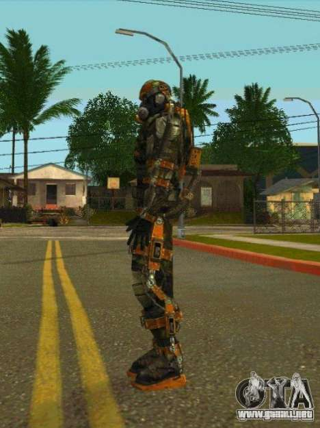 Pieles de S.T.A.L.K.E.R. para GTA San Andreas octavo de pantalla