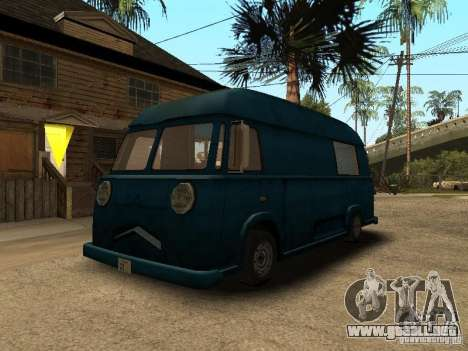 Hotdog civil Van para GTA San Andreas