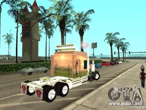 Kenworth W900 para la visión correcta GTA San Andreas