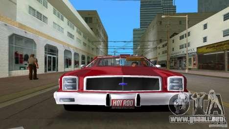 Chevrolet El Camino Idaho para GTA Vice City vista lateral izquierdo