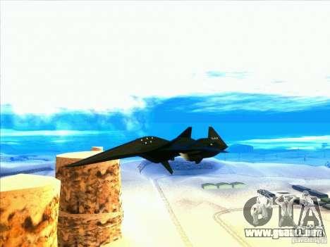 ADF-01 Falken para visión interna GTA San Andreas