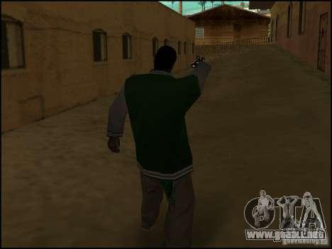 Arma en la mano para GTA San Andreas sucesivamente de pantalla