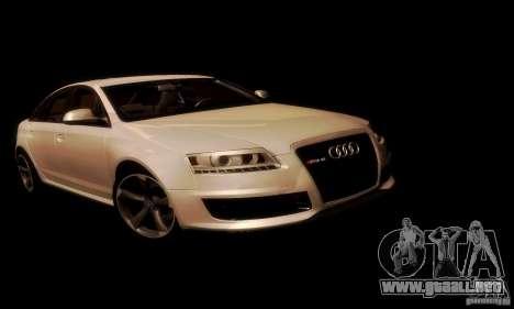 Audi RS6 TT para visión interna GTA San Andreas