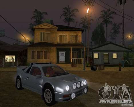 Ford RS 200 para GTA San Andreas