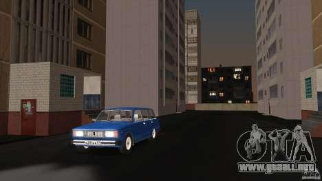 Arzamas beta 2 para GTA San Andreas segunda pantalla
