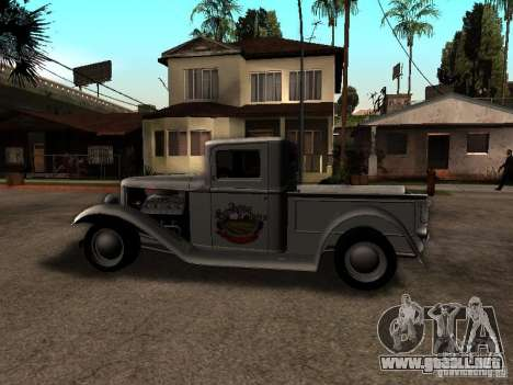 Ford Farmtruck para GTA San Andreas left