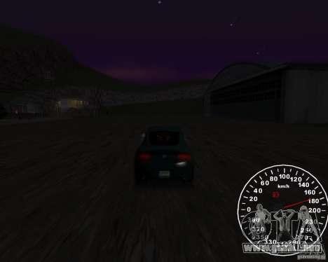 Velocímetro 2.0 final para GTA San Andreas segunda pantalla