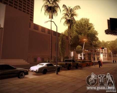 Nuevas texturas del pasillo de ciudad para GTA San Andreas quinta pantalla