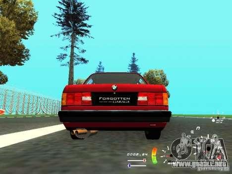 BMW E30 87-91 para la visión correcta GTA San Andreas