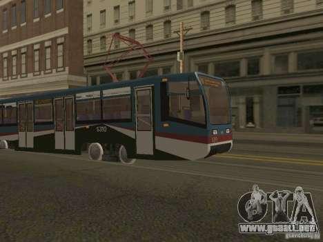 El nuevo tranvía para GTA San Andreas segunda pantalla