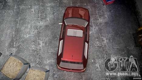 Volkswagen Golf MK3 GTI para GTA 4 vista superior