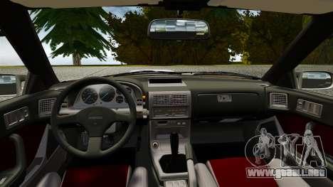 Mazda Savanna RX-7 para GTA 4 visión correcta