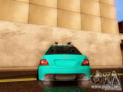Mitsubishi Lancer para visión interna GTA San Andreas
