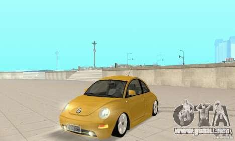 Volkswagen New Beetle GTi 1.8 Turbo para GTA San Andreas
