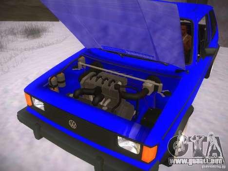 Volkswagen Rabbit GTI para la visión correcta GTA San Andreas