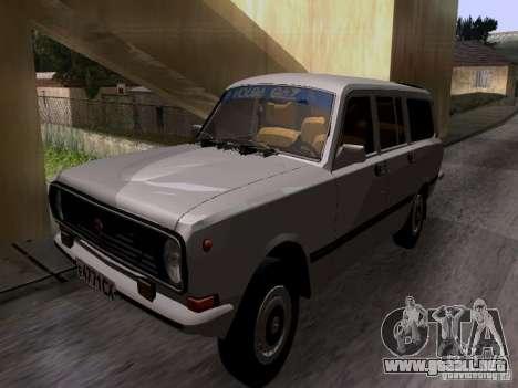 Volga GAZ 24-12 SL para GTA San Andreas vista posterior izquierda