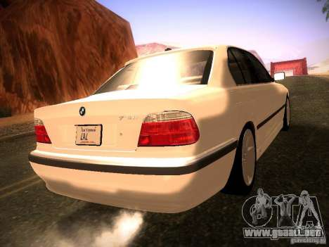BMW 730i e38 1997 para GTA San Andreas left