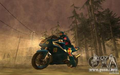 Red Bull Clothes v1.0 para GTA San Andreas séptima pantalla