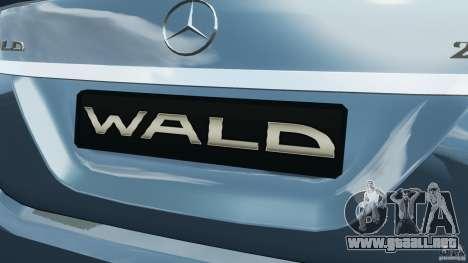 Mercedes-Benz S W221 Wald Black Bison Edition para GTA 4 ruedas