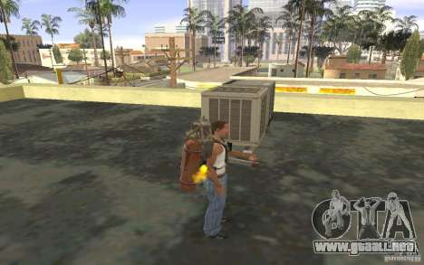 Jetpack en el estilo de la URSS para GTA San Andreas quinta pantalla