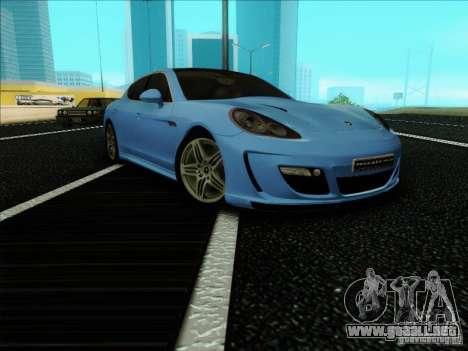 Gemballa Mistrale 2010 V1.0 para la visión correcta GTA San Andreas