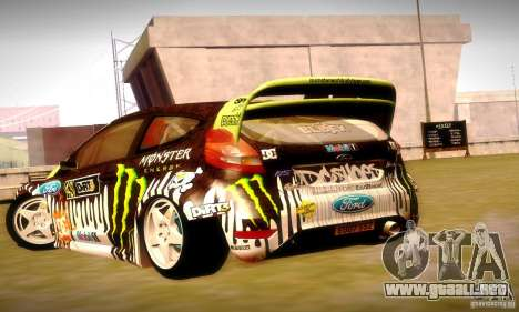 Ford Fiesta Gymkhana 4 para el motor de GTA San Andreas