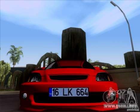 Honda Civic 16 LK 664 para GTA San Andreas left