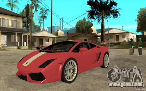 Lamborghini Gallardo LP550 Valentino Balboni para GTA San Andreas
