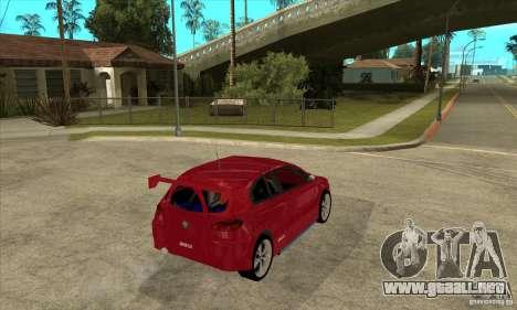 Alfa Romeo 147 para la visión correcta GTA San Andreas
