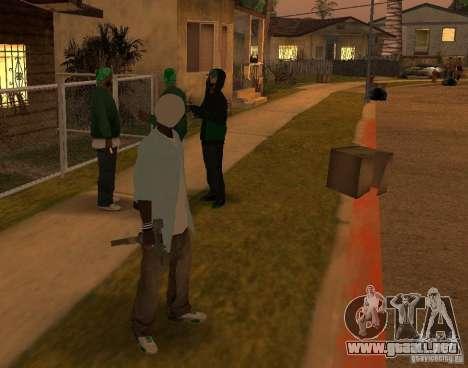Piel sbmycr para GTA San Andreas segunda pantalla