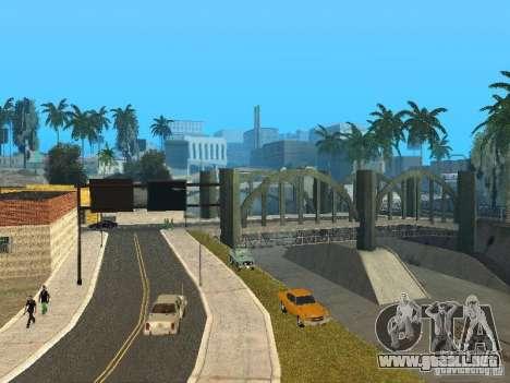 Mega Cars Mod para GTA San Andreas sucesivamente de pantalla
