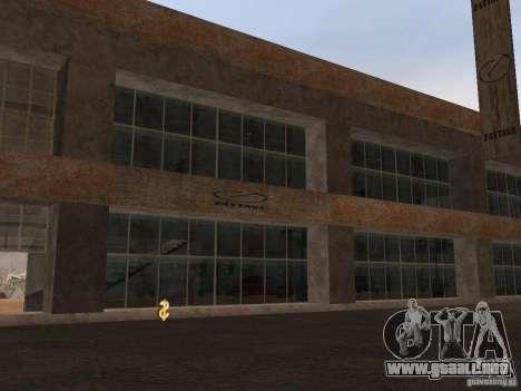 IMW Old Zastava Car Showroom para GTA San Andreas segunda pantalla