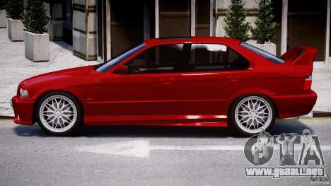 BMW 318i Light Tuning v1.1 para GTA 4 Vista posterior izquierda