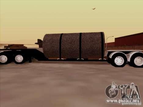 Trailer, Peterbilt 378 Custom para GTA San Andreas left