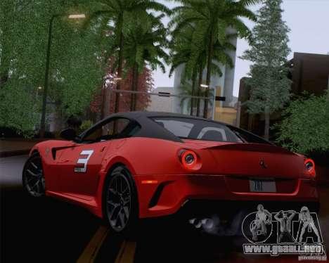 Optix ENBSeries para PC de gran alcance para GTA San Andreas quinta pantalla