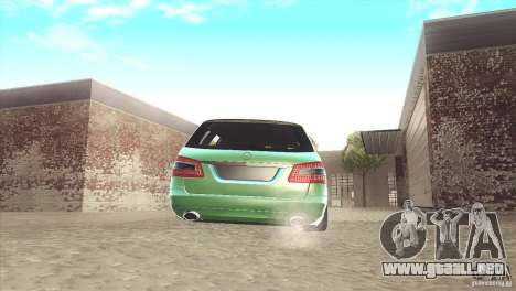 Mercedes-Benz E-Class Estate S212 para GTA San Andreas vista hacia atrás